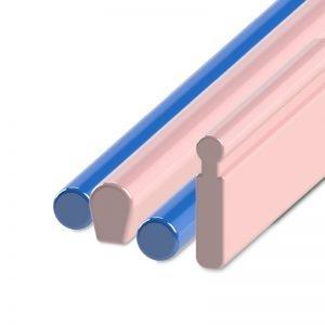 Barre e fili plastica calcinabile